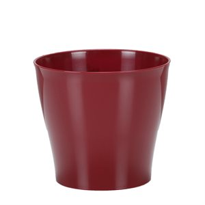 328 / 17 Cache-pot plastique Bright Red 10 / bte