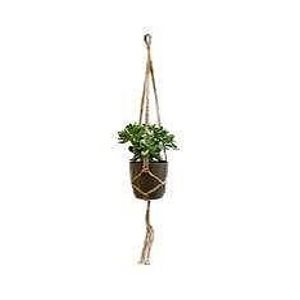Macrame Noeud Plat Simple Blanc