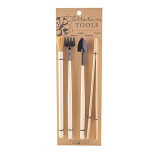 4 PIECES OUTILS TERRARIUM KIT 6 / BOX